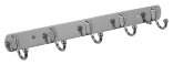 BATH ACCESSORIES STEEL HANGERS MODEL NO. 1250