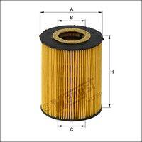 Oil filter BMW 11427542021