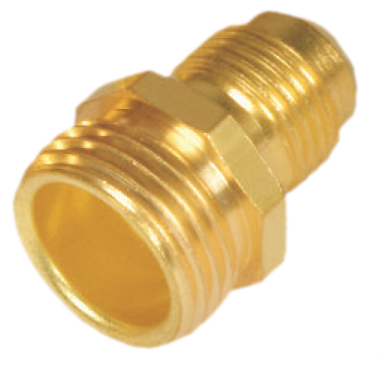 Brass Hose Adapter (Flare X Male Hose)