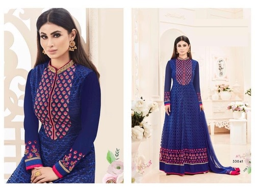Floor Touch Fully Worked Salwar Suit Shop Online