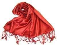 Plain 100% Silk Shawls