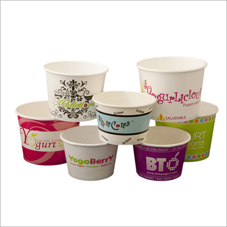 Printed Ice Cream Cup