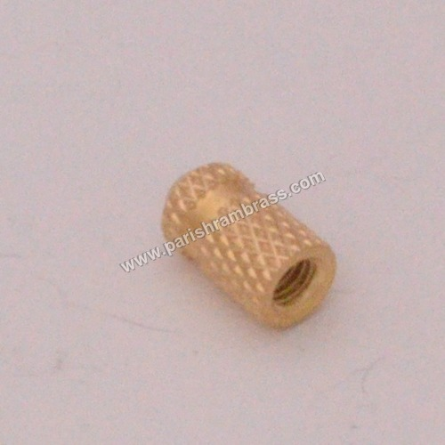 Brass Double Knurling Inserts