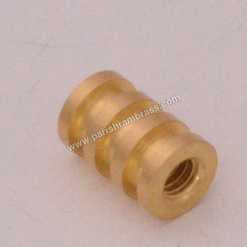 Brass Three Stap Round Inserts