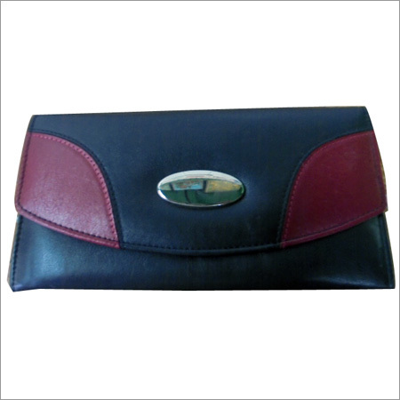 Ladies Leather Long Pouch
