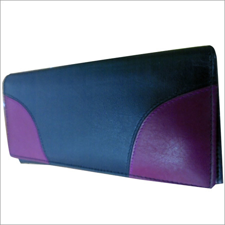 Ladies Designer Leather Long Pouch