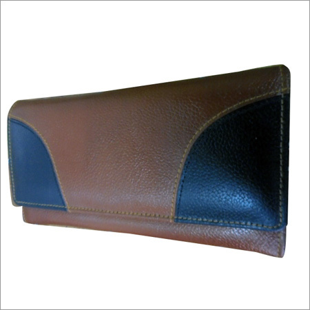 Ladies Brown Leather Pouch