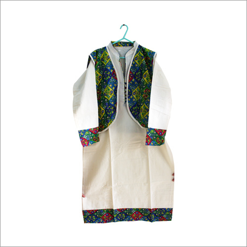 Printed Kurti With Jacket