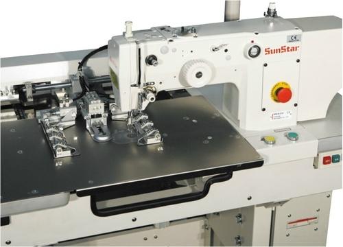 Automatic Cap Visor Quilting Machine