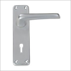 Straight Lever Lock on 6 Plate
