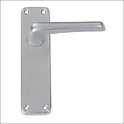 Straight Lever Latch on 6 Plate