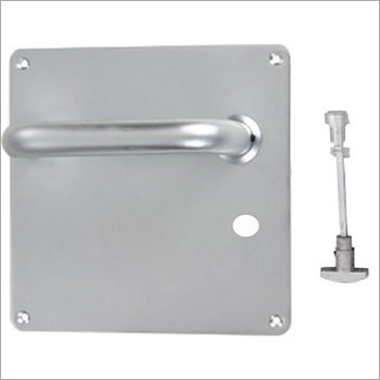 19mm Dia Round Lever Bathroom Set On Square Plate