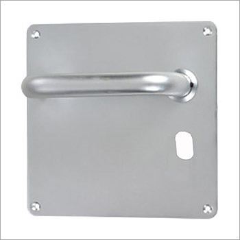 19mm Dia Lever On square Oval Cut Plate
