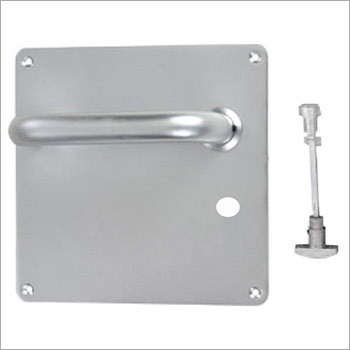 19mm Round Lever Bathroom On Square Plate