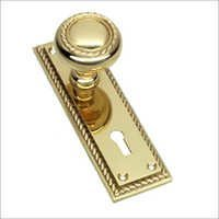 Georgian Mortice Knob Set on 6 Plate Lock
