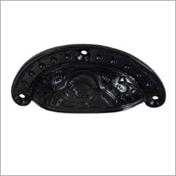 Black Iron Drawer Pull