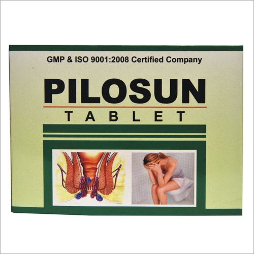 pilosun tablet For Piles And Haemorrhoids