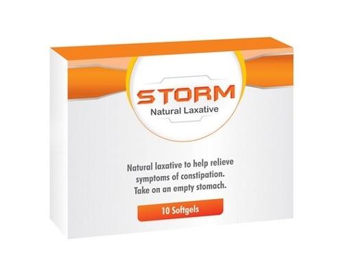 Storm Natural Laxative