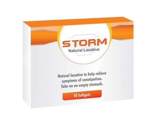 Storm Natural Laxative