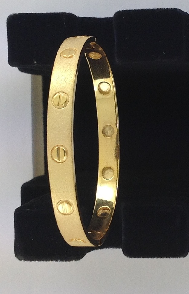 Gold Gents Bracelet
