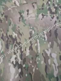 Multi Camouflage Military Fabric