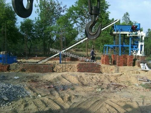 Automatic Concrete Blocks Machine