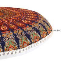 Decorative Cushions Pouf Cover