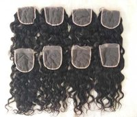 Natural High Quality Wavy HD transparent lace closures