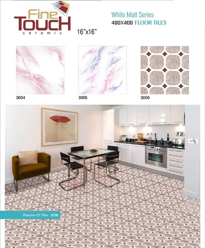 Ceramic Floor Tiles 400 X 400 mm