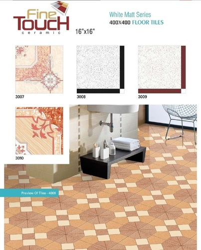 Designer bathroom Floor Tiles
