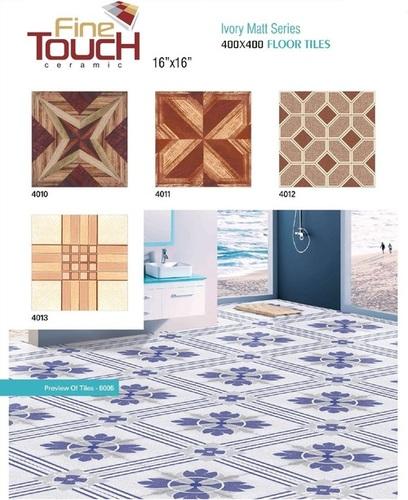 Bathroom Flooring Tiles