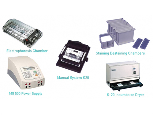 Hydragel K-20 Manual Gel Electrophoresis System