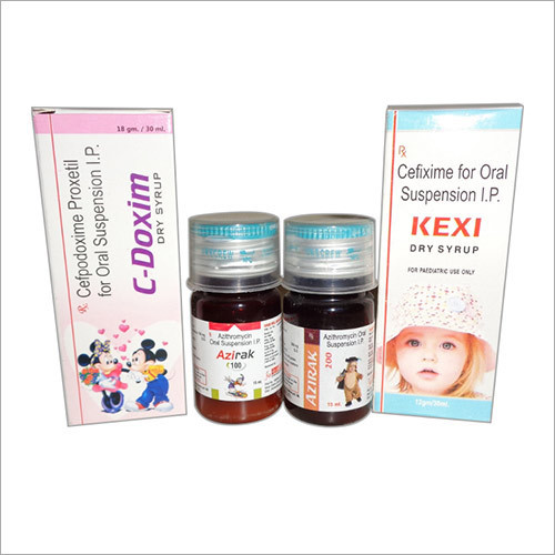 C-Doxim, Azirka 100-200, Kexi Dry Syrup