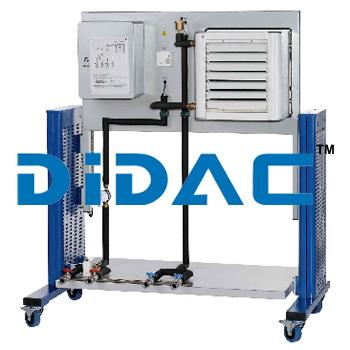 Fan Heater Air Heat Exchanger