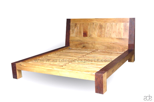 Indian Acacia Wood Bed