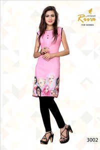 Printed Cotton Kurtis Wholesale