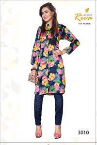 Printed Cotton Kurtis Wholesales