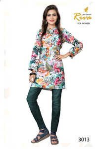 Printed Cotton Kurtis Catalog