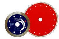 The crimped fine cutting blade for ceramic