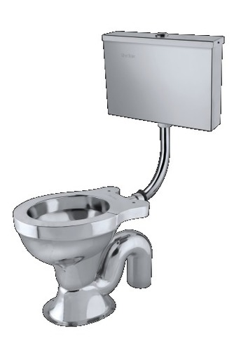 Stainless Steel Ewc S.S Cistern With Internal Fitt