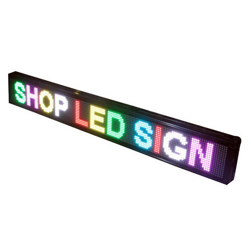 LED Scroll Boards