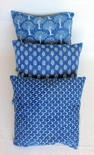 Hand Block Printed India Cushion Covers