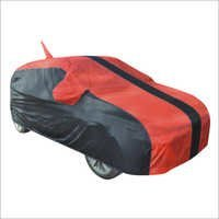 Car Cover Black N Red