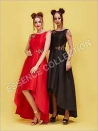 Women Black Gowns