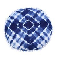 Round Cushion Cover Shibori