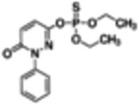 Pyridaphenthion solution