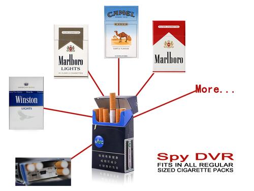 SPY CAMERA IN CIGARETTE BOX