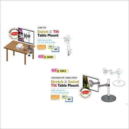 Stretch & Swivel Tilt Table Mount