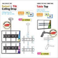 Swivel & Tilt Ceiling Drop