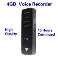 SPY USB DIGITAL VOICE RECORDER WITH PLAYBACK